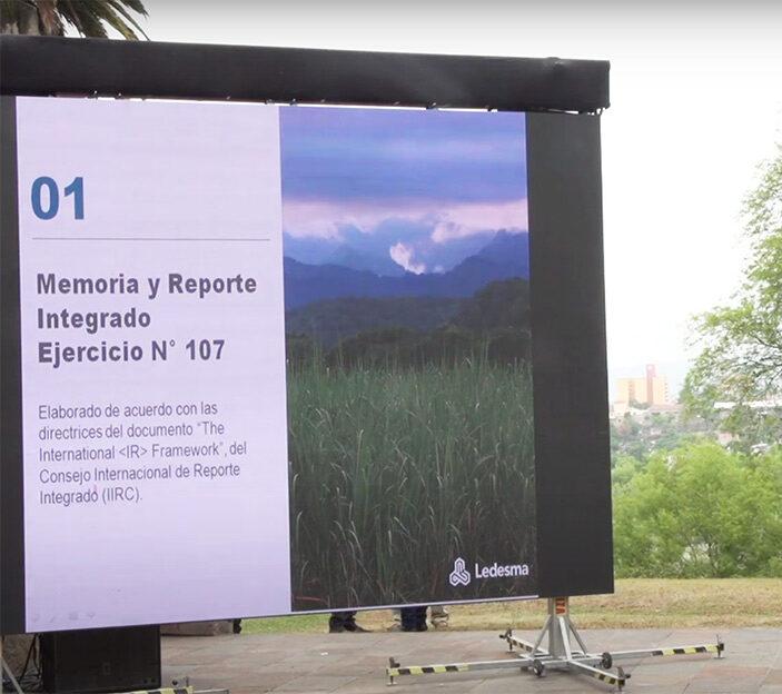 Balance 2020 Memoria Reporte Integrado Ledesma forma anual nuestro desempeño económico, social y ambiental
